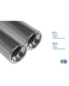 Fox  HO041011-070 Rear Silencer