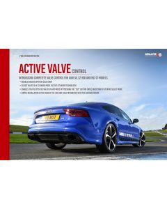Milltek Sport SSXAU677 Active Valve Control